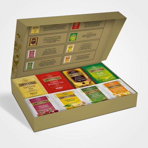 Twinings Gift Box Mixed Selection 40 filters 2020