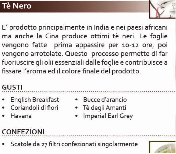 Tè Nero English Breakfast Natura Life 27 filtri