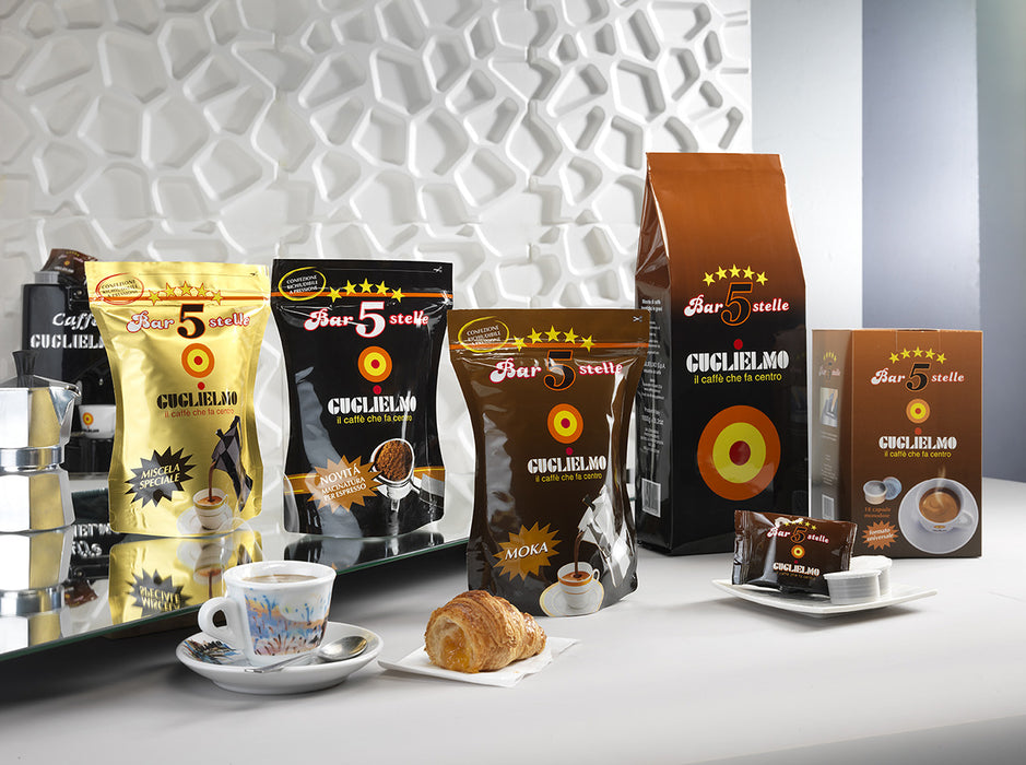 Ground coffee 5 Stelle Oro 250 g