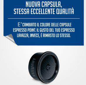Coffee capsules Espresso Point Tierra 100 cps
