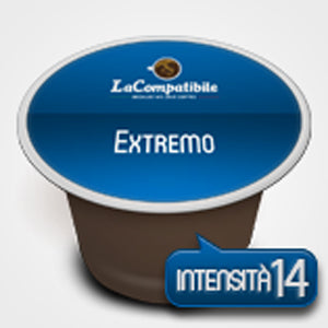 Coffee capsules compatible with Nespresso * Extremo 100 cps