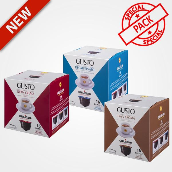 Coffee capsules compatible with Nescafé Dolce Gusto Tasting 48 capsules