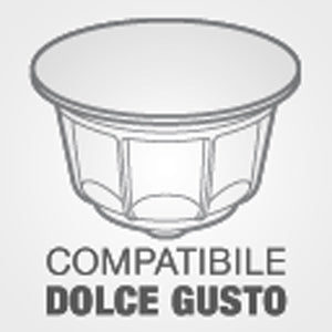 Caffèlatte Dolce Gusto compatible capsules 16 capsules