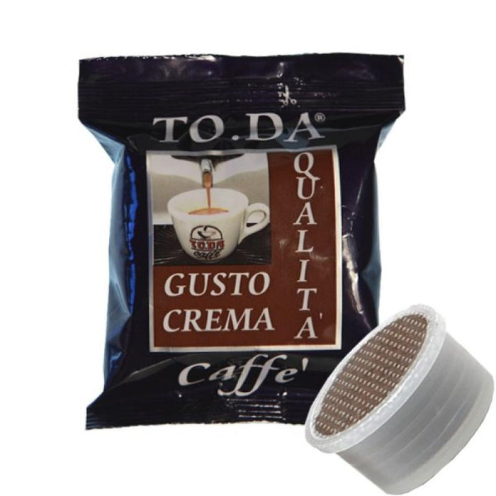 Coffee capsules compatible Espresso Point Gusto Crema 100 capsules