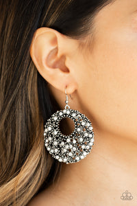 Starry Showcase - White Earrings