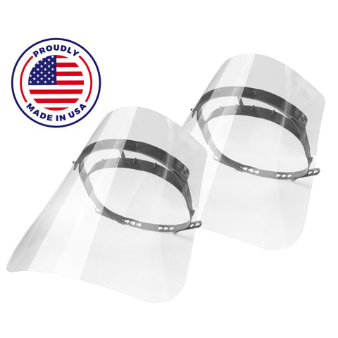 Reusable Face Shield Made in USA