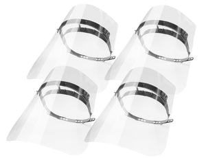 OptiClear Reusable Face Shields (4 pack)