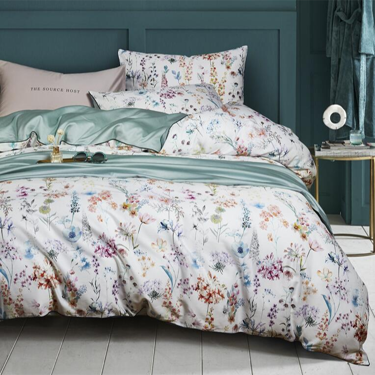 Blissful Bloom Duvet Cover Set (Egyptian Cotton)
