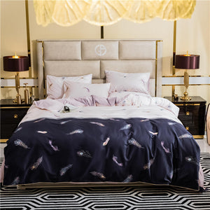 Falling Feather Duvet Cover Set (Egyptian Cotton)