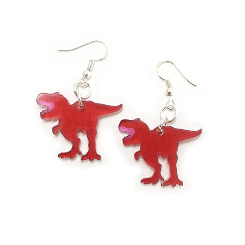 T.rex Acrylic Earrings