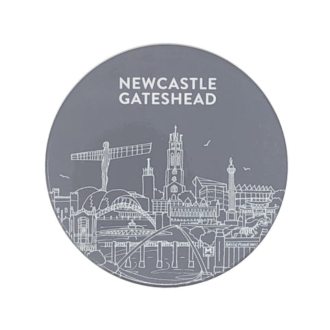 NewcastleGateshead ceramic coaster