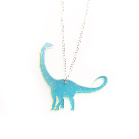 Diplodocus Acrylic Necklace
