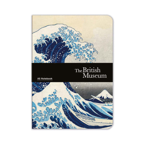 Notebook: A5 Luxury, Hokusai, The Great Wave