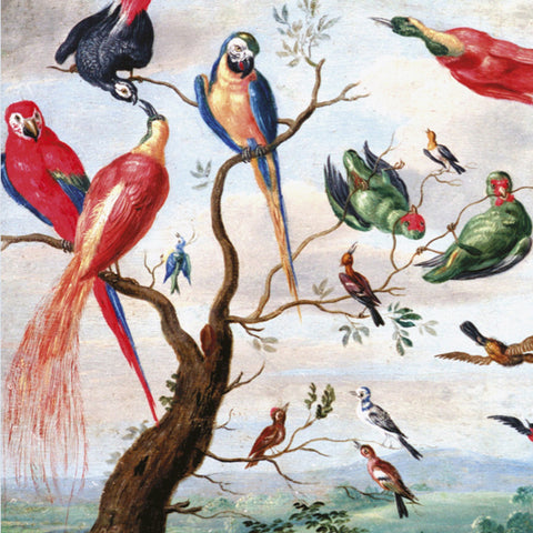 A Chorus of Birds Greetings Card