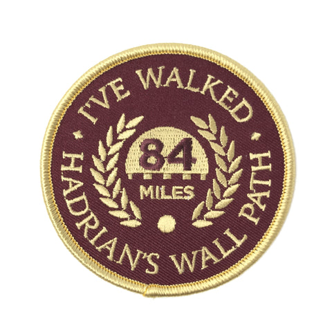 I've Walked Hadrian's Wall Embroidered Patch