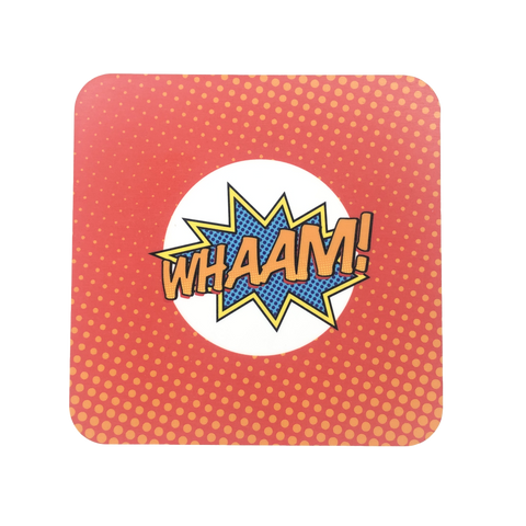 Whaam! Pop Art Coaster
