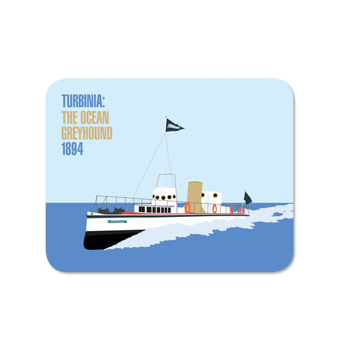 Turbinia the Ocean Greyhound coaster