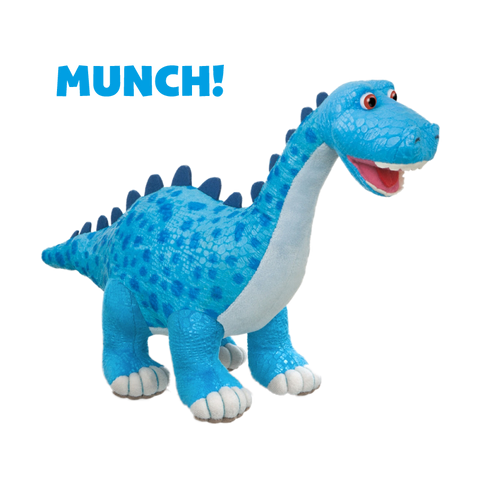 Dinosaur Munch! the Diplodocus Soft Toy