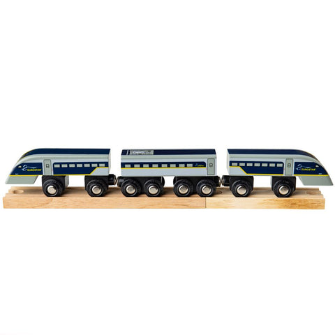 Bigjigs Wooden Eurostar e320 Train