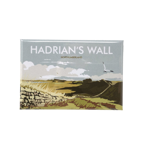 Magnet: Dave Thompson, Hadrian's Wall, Milecastle 37