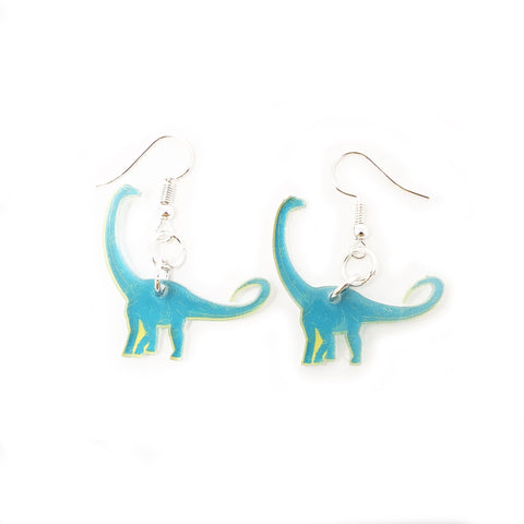 Diplodocus Acrylic Earrings