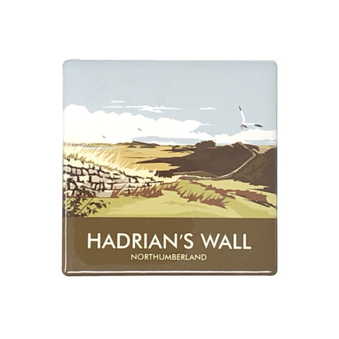 Coaster: Ceramic, Dave Thompson, Hadrian's Wall, Milecastle 37