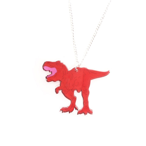 T.rex Acrylic Necklace