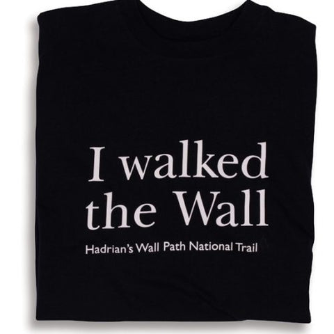 I Walked the Wall Full Chest Inscription Unisex T-shirt