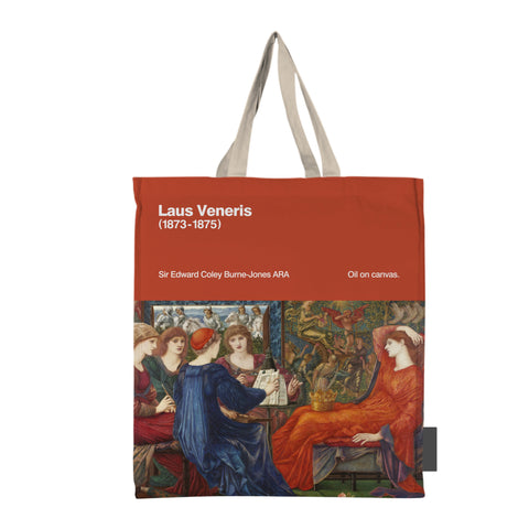 Laus Veneris by Burne-Jones Faux Suede Tote Bag