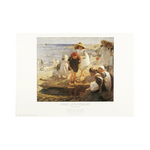 The Beach by Laura Knight Print