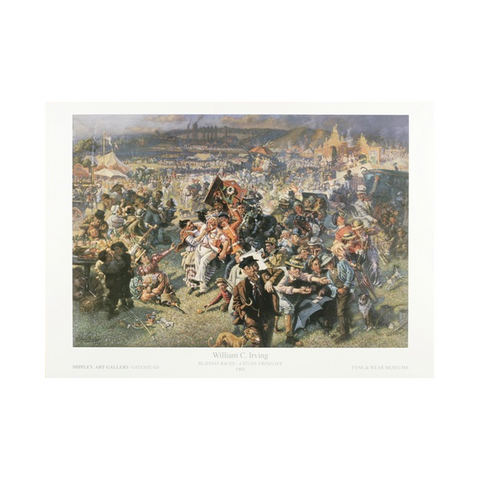 Blaydon Races by William Irving Print