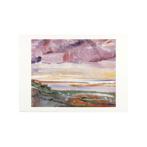 Sunset The Bay, North Devon by David Bomberg Print