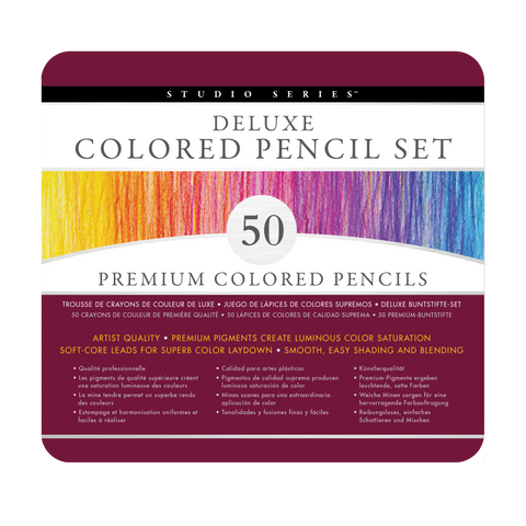 Deluxe Coloured Pencil Set
