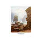 Cliffs at Marsden Bay Print