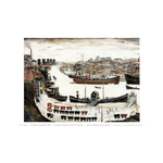 Dockside, Sunderland by LS Lowry Print