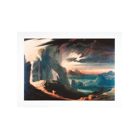 Expulsion of Adam and Eve by John Martin Print