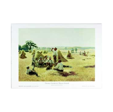 Harvesters Resting by Thomas Sheard Print