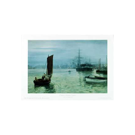 Last Boat In by Hemy Print