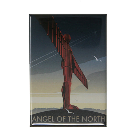 Angel of the North by Dave Thompson Magnet