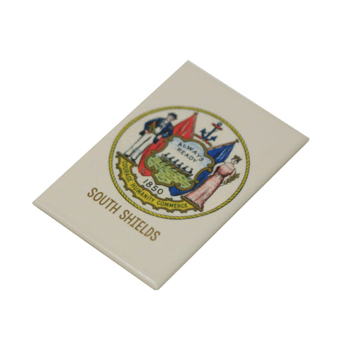 South Shields Crest Magnet