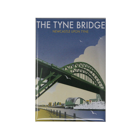 Tyne Bridge by Dave Thompson Magnet