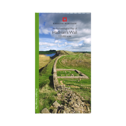Archaeological Hadrian's Wall Map