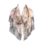 Pinks by Mackintosh Chiffon Silk Scarf