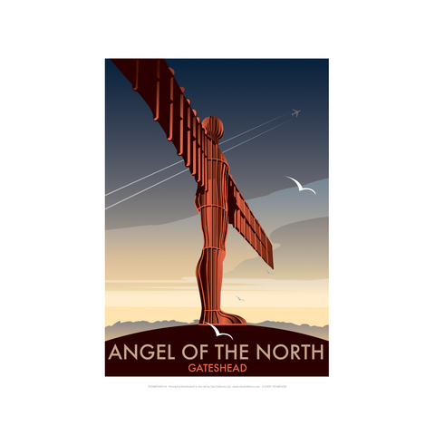 Angel of the North by Dave Thompson Print