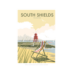 South Shields by Dave Thompson Print