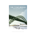 Tyne Bridge in Winter by Dave Thompson Print