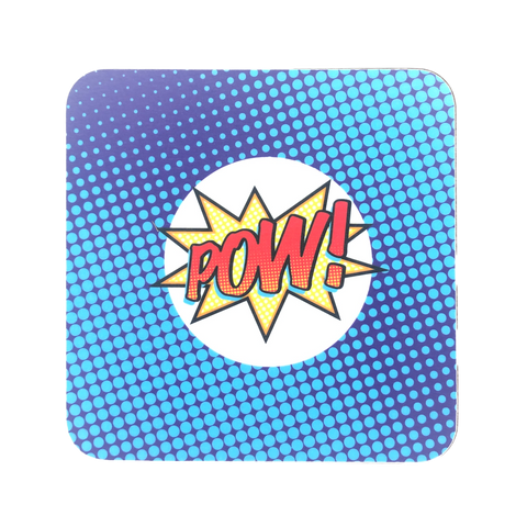 Pow! Pop Art Coaster