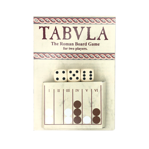 Tabula Roman Dice Game