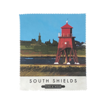 South Shields Herd Groyne Lens Cloth
