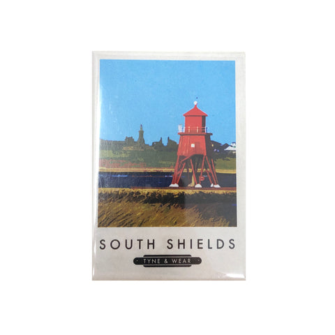South Shields Herd Groyne Magnet